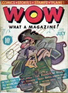 Wow — What a Magazine! #1 (1936)