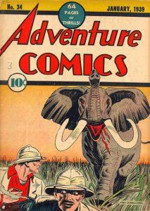Adventure Comics #34 (1938)