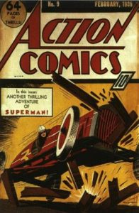 Action Comics #9 (1939)