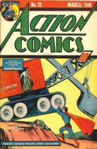 Action Comics #22 (1940)