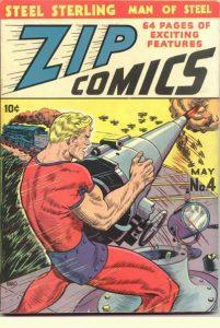 Zip Comics #4 (1940)