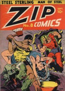 Zip Comics #8 (1940)