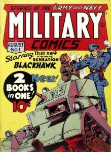 Military Comics #1 (1941)
