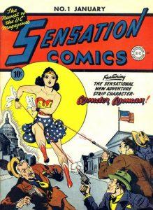 Sensation Comics #1 (1941)