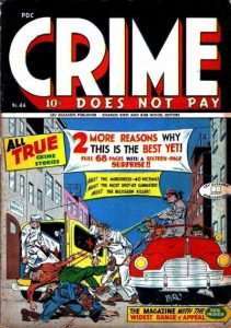 Crime Does Not Pay #44 (1946)
