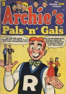 Archie's Pals 'n' Gals #3 (1952)
