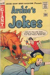 Archie Giant Series Magazine #17 (1954)