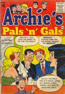 Archie's Pals 'n' Gals #4 (1955)