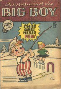 Adventures of the Big Boy #13 [East] (1957)