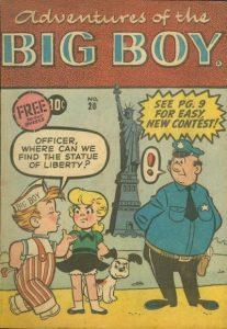 Adventures of the Big Boy #20 [East] (1957)
