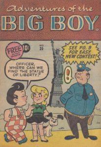 Adventures of the Big Boy #20 [West] (1957)