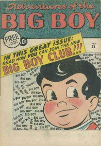 Adventures of the Big Boy #22 [West] (1957)