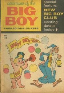 Adventures of the Big Boy #23 [East] (1957)