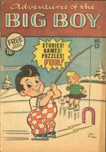 Adventures of the Big Boy #13 [West] (1957)