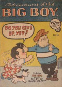 Adventures of the Big Boy #14 [West] (1957)