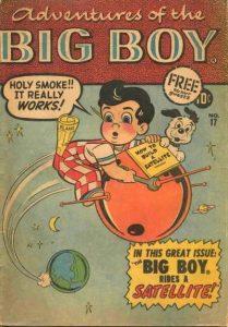 Adventures of the Big Boy #17 [West] (1957)