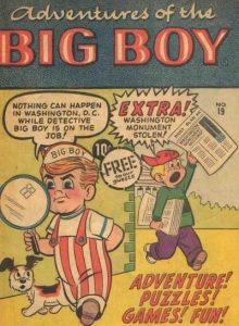 Adventures of the Big Boy #19 [East] (1957)