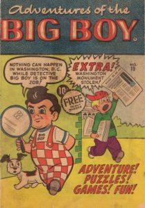 Adventures of the Big Boy #19 [West] (1957)