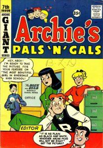 Archie's Pals 'n' Gals #7 (1958)