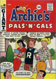 Archie's Pals 'n' Gals #10 (1959)