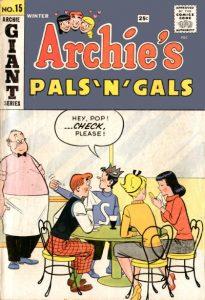 Archie's Pals 'n' Gals #15 (1960)