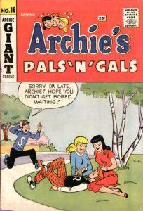 Archie's Pals 'n' Gals #16 (1961)