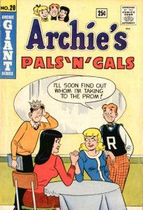 Archie's Pals 'n' Gals #20 (1962)