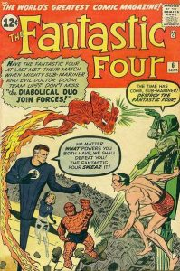 Fantastic Four #6 (1962)