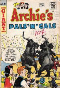 Archie's Pals 'n' Gals #21 (1962)