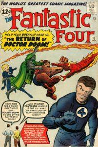 Fantastic Four #10 (1962)