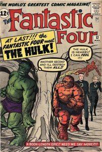 Fantastic Four #12 (1962)