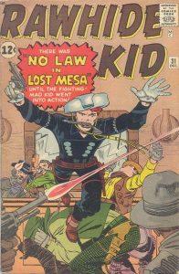 The Rawhide Kid #31 (1962)
