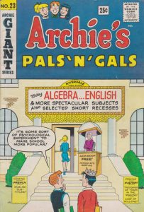 Archie's Pals 'n' Gals #23 (1962)