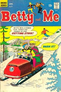 Betty and Me #7 (1967)