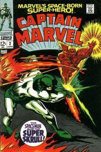 Captain Marvel #2 (1968)