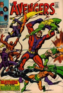 Avengers #55 (1968)