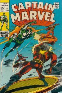Captain Marvel #9 (1969)