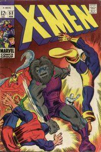 The Uncanny X-Men #53 (1969)