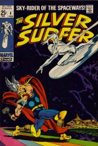 The Silver Surfer #4 (1969)