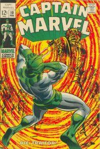 Captain Marvel #10 (1969)