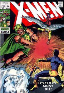 The Uncanny X-Men #54 (1969)