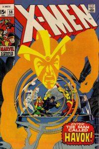 The Uncanny X-Men #58 (1969)