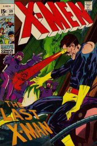 The Uncanny X-Men #59 (1969)