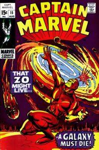 Captain Marvel #15 (1969)