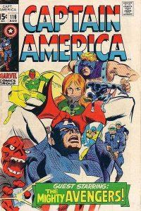 Captain America #116 (1969)