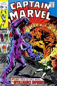 Captain Marvel #16 (1969)
