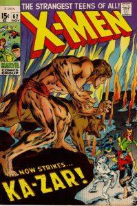 The Uncanny X-Men #62 (1969)