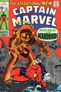 Captain Marvel #18 (1969)
