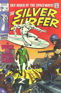 The Silver Surfer #10 (1969)