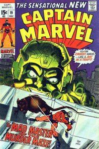 Captain Marvel #19 (1969)